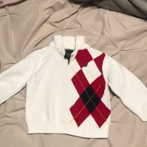 Nautica argyle sweater